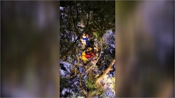 埔里飛行傘又傳意外 傘客降落失敗卡六層樓高樹
