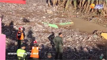 摩洛哥河川潰堤 洪水灌入足球場7人罹難