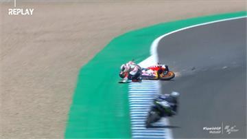 MotoGP開季!四連霸車手摔斷手退賽