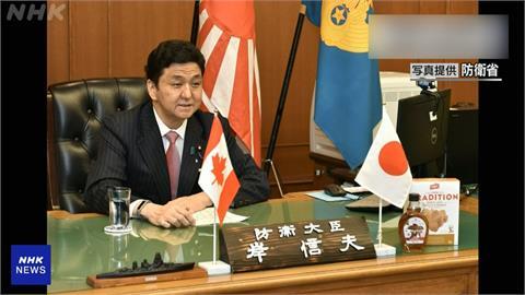 日本防衛大臣岸信夫 罕見評論台海情勢