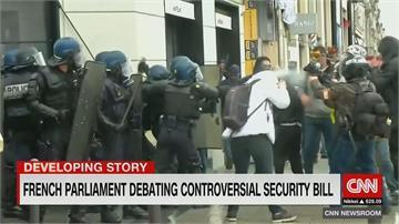 不能拍警察執法? 法國一讀通過整體安全法 民眾痛批損民主與新聞自由