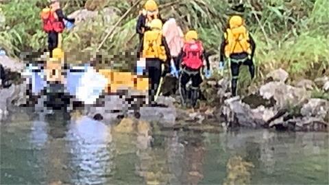 快新聞/虎豹潭最後一位8歲劉小妹妹找到了!  沖走「18公里」在坪安潭營地尋獲