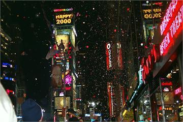快新聞/114年來第一次! 紐約時代廣場跨年將改成線上直播