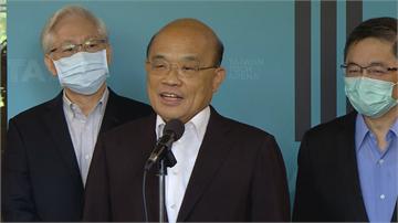 快新聞/陳時中、鄭麗君將角逐台北市長? 蘇貞昌不選邊:兩人都是我好友