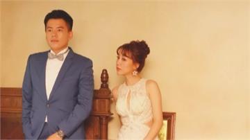 苗栗最年輕議員結婚了!張可欣婚紗照大秀事業線