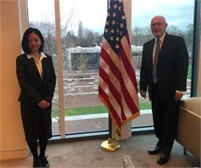 快新聞/台駐荷代表進美大使館創外交先例 荷媒關注、中方譴責