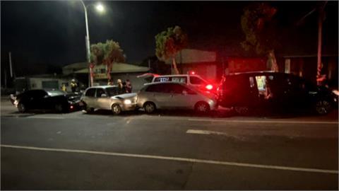 男疑酒駕追撞3車釀3傷 中市議員楊典忠受傷送醫