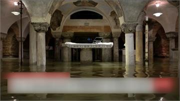 威尼斯水淹187公分高 宣布進入緊急狀態