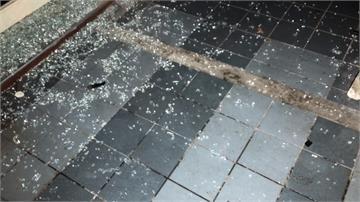 檳榔攤一個月遭砸2次 快打部隊到場處理