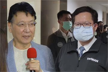 快新聞/趙少康表態「爭取」國民黨參選2024 鄭文燦回應了