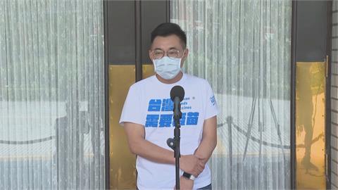 快新聞/國民黨「AZ特戰隊」紅到日本 江啟臣反批根本問題是疫苗不夠
