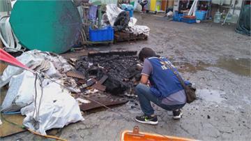 好臭!回收廠違法燒電線 負責人竟說「天涼燒東西取暖」