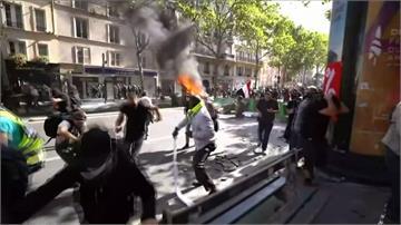 巴黎抗議氣候變遷遊行 黃背心混入演變成全武行