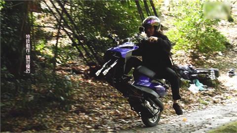 日本最強孤輪車手 安倍優快閃台中美景