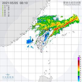 鋒面影響北北基大雨特報 南部局部短暫降雨