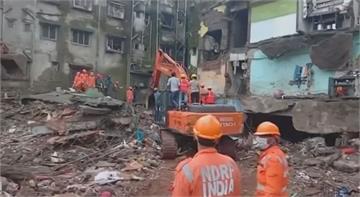 印度倒塌公寓死亡攀升 當局疏散附近居民