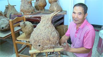 蜂農兼職藝術家!蔡明勳雕塑虎頭蜂窩成收藏品