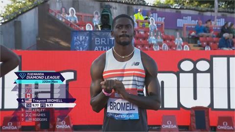 全球最速男! 布洛梅爾今年百米6度10秒內