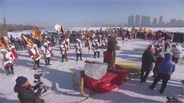 哈爾濱「採冰節」登場!將開採12萬立方公尺冰塊!