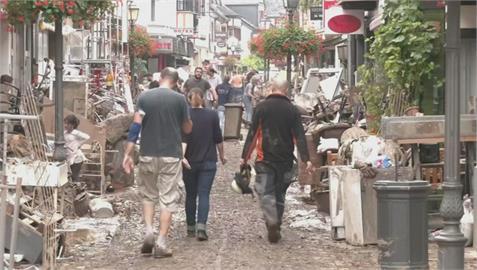 西歐慘遭百年洪災 比國災民:洪水如海嘯