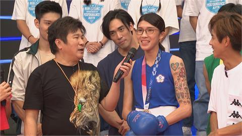胡瓜消失4週回歸! 節目首集親上拳擊台對上黃筱雯
