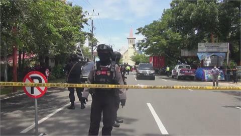 印尼天主教堂遭自殺攻擊釀14傷 1炸彈客身亡