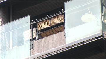 三峽社區又下玻璃雨 民眾險遭砸中