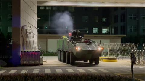 漢光演習第2天!模擬中國部隊強攻總統府 阻絕敵軍就在這!