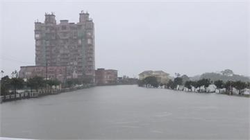 連日大雨大淹水!蘇澳、五結成「水鄉澤國」