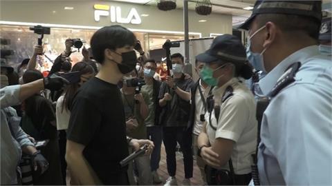 港警封鎖維園禁六四燭光紀念 6人遭逮捕