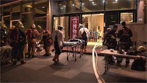新北三峽大樓惡火 4人一度受困陽台