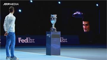 網球/喬科維奇獲頒年終球王 蠻牛小組賽奪首勝