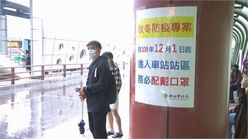 秋冬防疫專案上路!視察板橋車站 侯友宜:不聽勸導就開罰