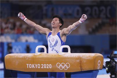 東奧/李智凱進化成「鞍馬王者」摘銀 大學長吳柏賢讚:巴黎奧運一定奪金