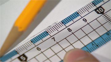 你畫一個試試! 「比8cm長 比7cm短」 直線怎畫