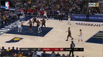 NBA/哈勒戴飆進關鍵3分球 溜馬中止暴龍5連勝
