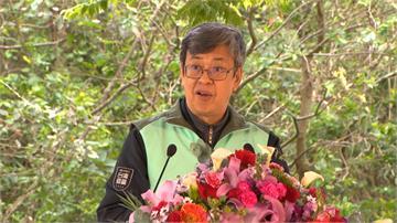 出席312植樹節活動 陳建仁種下希望之苗
