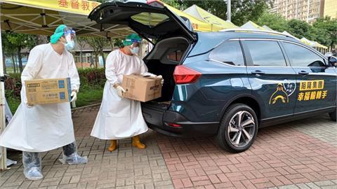 裕隆捐助新北市10部行動專車!協助投入防疫運輸累計超過1500萬元