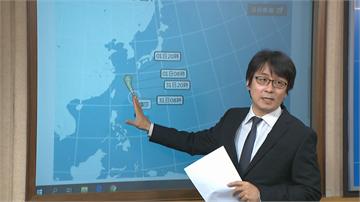 快新聞/中颱梅莎持續增強 氣象局:今晚到明天上午最接近台灣