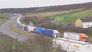 英國恐「硬脫歐」引爆囤貨潮 多地港口爆量大塞車