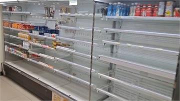 快新聞/閃電颱風侵襲綠島、蘭嶼「掀長浪」 超商食物被掃空
