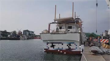 台南安平漁港 引擎吊掛作業不慎撞死工人