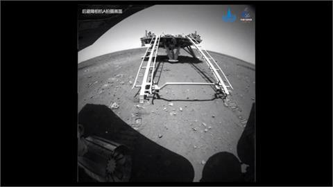中國祝融號成功駛離平台 開始探測火星