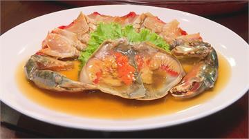 秋季蟹宴!手工大閘蟹小籠包 江浙名菜醉膏蟹鮮味上桌