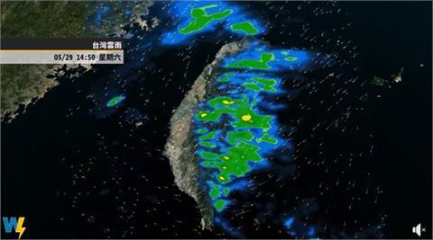 下波變化週末到來!不安定因素干擾梅雨鋒面 彭啟明:6月限水壓力大