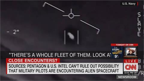 UFO真的來了?美軍多次捕捉「不明飛行物體」