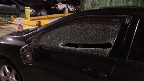 約前女友的新男友討債 高雄男被圍毆砸車