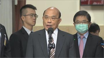 快新聞/中國對台加速「統一進程」 蘇貞昌:執迷不悟跟中國唱和會被主流民意唾棄