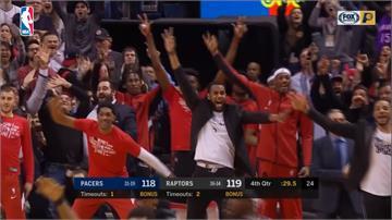 NBA/一度落後25分仍大逆轉!暴龍創12連勝隊史紀錄