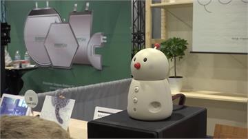 美國年度CES消費電子展登場 各種機器人包辦大小事